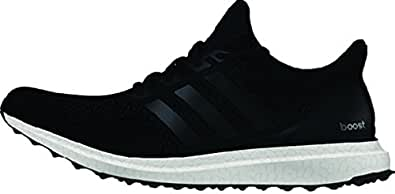 adidas Performance Men s Ultra Boost M Running Shoe Black / Black / Solar Yellow 16 D(M) US