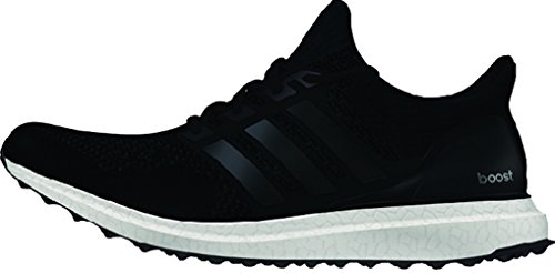 Adidas Performance Ultra Boost Chaussures de course Primeknit Noir Violet 2015 (7,5) Black/Black/Solar Yellow/White