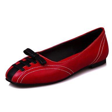 Confortevole ed elegante piatto scarpe donna Appartamenti Primavera Estate Autunno Inverno Comfort Office & Carriera Party & abito da sera tacco piatto di pizzo nero rosso blu Blue