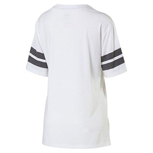 Puma ACTIVE SWAGGER Fashion Tee - puma black Weiss