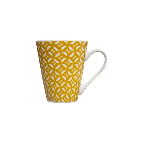 Mug conique - Faience - Jaune