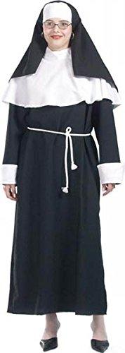 Aptafêtes-cu050060/38-40-Disfraz de Religiosa Monja Talla 38/40