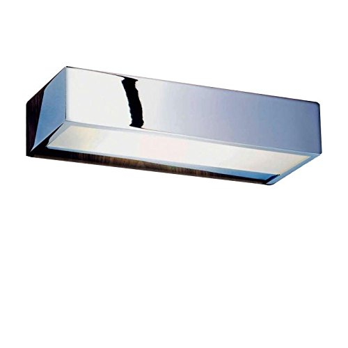 Decor Walther Box Wandleuchte Chrom, chrom poliert 25x10cm -