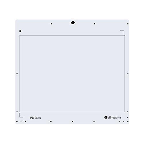 Silhouettes 12,75 X 29,8 cm Pixscan Tapis, Blanc