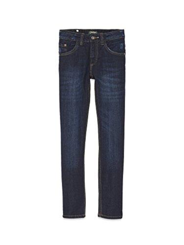 COLORADO DENIM Jungen Jeanshose C949 Slim, Blau (Dark Stone 260), 128 (Verstellbare Bootie)
