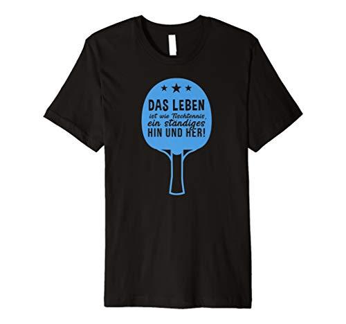 Lustiges Slogan Spruch Tischtennis T-Shirt Geschenk
