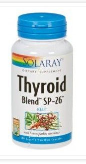 Thyroid Blend 100 Capsulas Solaray