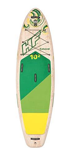 Bestway Hydro-Force SUP Kahawai stabiles und leichtes Stand-up-Paddling Board aufblasbar, 310x86x15 cm