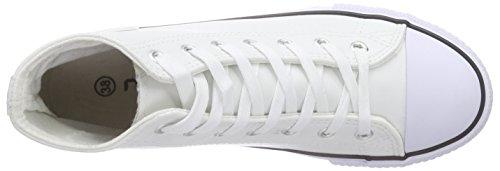 Nebulus - Voll-leder-evo, Scarpe da ginnastica Donna Bianco (Bianco)