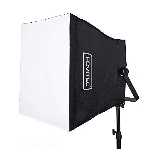 Fovitec LED faltbar Softbox Lichtformer kompatibel mit 600 Serie Panel -