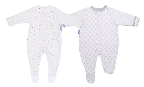 Gro-suit Silver Star + BE A Dazzler Lustrant Lot de 2–12–18 mois