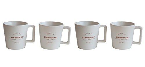 Starbucks Expresso Cup Royal White 1971 est Mug Espresso Lot Demitasse (1)