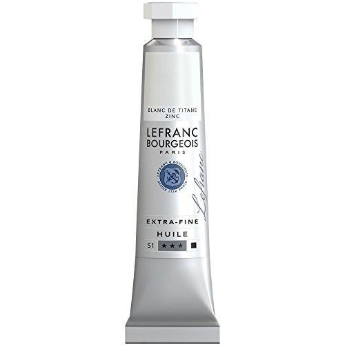 Lefranc & Bourgeois-Pintura al óleo, Titan zinkweiss, 2,9 x 1,9 x 10,3 cm
