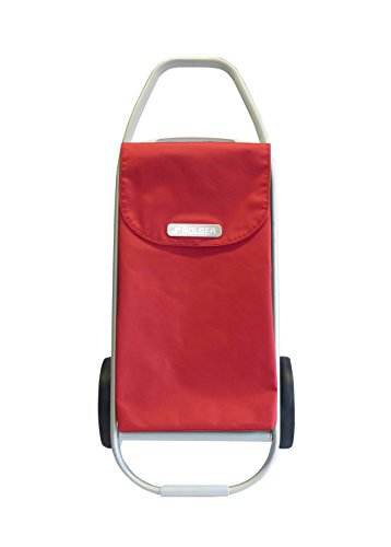 Rolser COH001 Einkaufsroller 8 COM MF, 53 L, 47,5 x 42 x 101,8 cm, rot