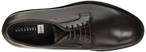 marrone 44725 Chaussures In Fratelli Lacets Marron Homme Marrone Rossetti Scuro 8aRq1
