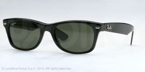 ray-ban-rb2132-new-wayfarer-black-frame-grey-green-lens-plastic-sunglasses-55mm