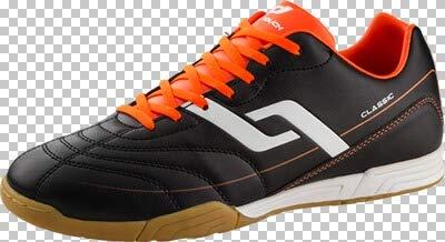PRO TOUCH Herren- Fußballschuh Classic IN, schwarz/orange/weiss,46