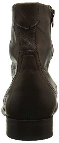 Base London Keystone, Bottes Motardes Homme Marron (Rustic Brown)