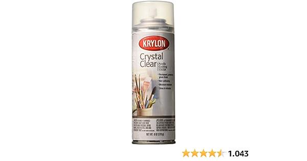 6 Ounces Crystal Clear Acrylic Coating Aerosol Spray 1303a Küche Haushalt