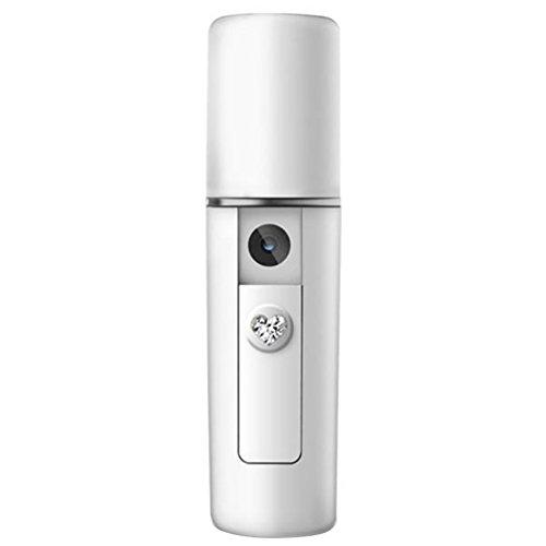 Yxaomite Facial Nano Sprayer, Nebelsprüher MINI Gesichtsdampfer Professionelle Feuchtigkeitsspendende Zerstäuber Öffnung Poren Home Spa Gesichtsdampfer Tragbare und Professionelle Hautpflege Bleaching