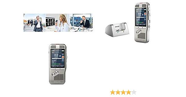 Philips Dpm8500 Pocket Memo Diktiergerät Integrierter Barcode Scanner Ohne Software Bürobedarf Schreibwaren
