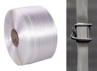 Starterset Fadenstrukturband 16 mm 450 daN; 850 mtr. Umreifungsband
