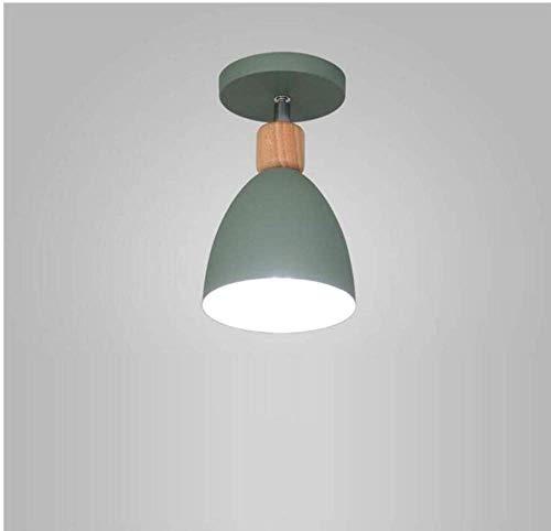Deckenleuchten Lampen Kronleuchter Pendelleuchten Halbebündige Leuchte E27 Deckenleuchte Küchenleuchte Deckenleuchte Industriebeleuchtung Chrom Poliert [Energieklasse a ++] für Schlafzimmer Wohnzimme -