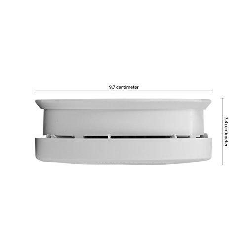 Smartwares TÜV Rauchmelder / Brandmelder, DIN EN 14604, reinweiß, RM149_1J - 4