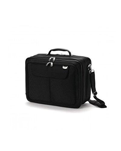 Dicota UltraCase Twin Notebooktasche für 39,1 cm (15,4 Zoll), schwarz - Verkauf Workstation