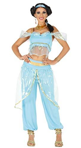 Fiestas Guirca Prinzessin Kostüm der Wüste, tausend und eine (Jasmine Für Erwachsene Kostüm)