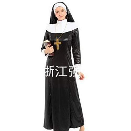 Paar Weihnachten Kostüm Ideen - GBYAY Frauen Männer Kind Nonne Priester