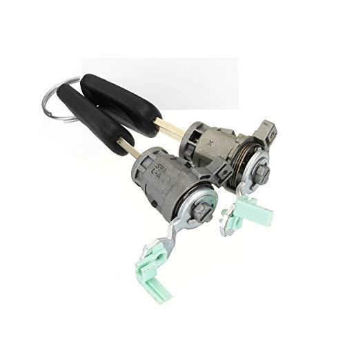 Forspero Left Ignition Door Lock W/Keys For Honda Civic Element CR-V And For Odyssey S2000 (Honda Civic Tankdeckel)