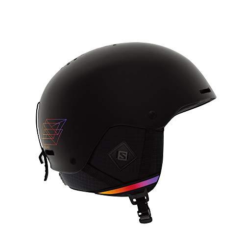 Salomon Brigade+ Casco de esquí y Snowboard para Hombre, Carcasa ABS, Tecnología Smart, Circunferencia: 53-56 cm, Negro (Black Hucknife), Talla S