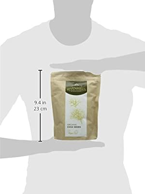 Sevenhills Wholefoods Organic Raw Chia Seeds - PARENT