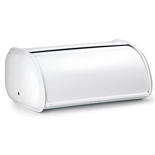 Polder 210201 Deluxe Steel Bread Box, White by Polder White Bread Box