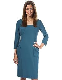 Nife Women Dress turquoise S31R38L-TU