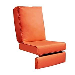 ART TO REAL Nur Abdeckung, Outdoor Recliner Chair Ersatzkissenbezug, Patio Furniture Chair Sofa waschbar Kissen Tiefe…