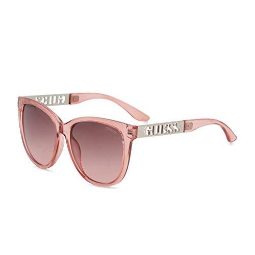 GUESS Factory Women's Square Logo-Temple Sunglasses