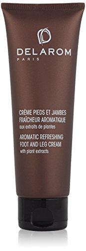 Delarom aromatique rafraîchissant Crème pour les pieds avec extraits de plantes 125 ml