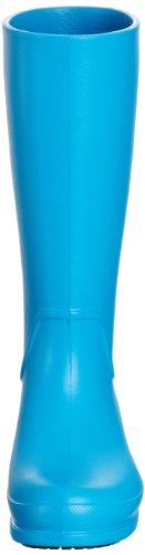 Crocs Wellie, Bottes de pluie homme Bleu (Blau Ocean/Black 49S)