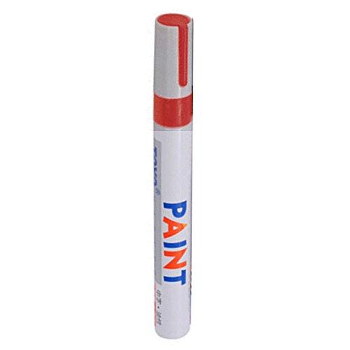 Rosso 3 pennarello universale impermeabile permanente pennarello per pneumatici auto gomma battistrada gomma metallo strumento di scrittura Studenti ufficio Highlighte plastica doppio ricariche