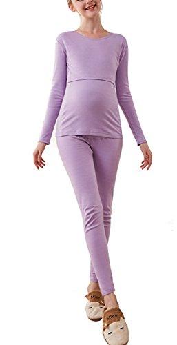 Frauen Schwangere Kompressionssocken, Schwanger Strumpfhosen Bein Socken - Glatt Kniehöhe Professionell (Schlauch Kompression Juzo)