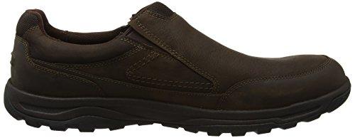 Rockport Trail Technique Waterproof Slip On, Mocassins (Loafers) Homme Marron (Dark Brown)