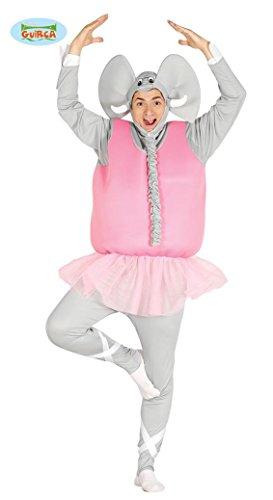 rosa Männer Elefanten Ballerina Junggesellenabschied Rock Tütü Herrenkostüm M/L, (Männer Kostüme)