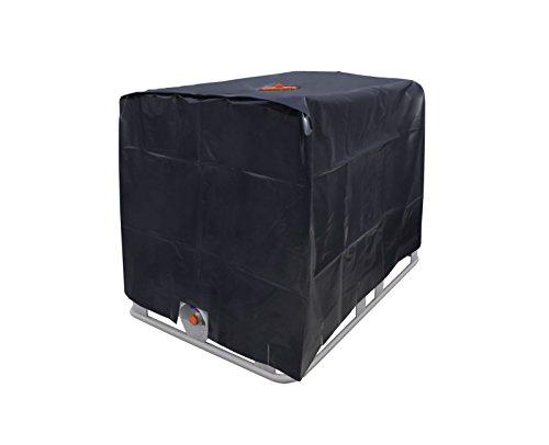 120x100x116cm-Abdeckplane-IBC-Tank-1000-Liter-Haube-Wassertank-Container-Folie-Cover