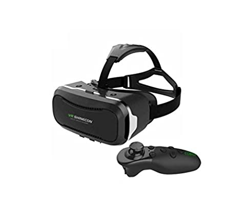 Nola Sang VR Headset 3D Brille Viewing Immersive Virtual Reality Headset Smart Einstellbar für Filme Videospiele Kompatibel mit Bildschirm 4.5