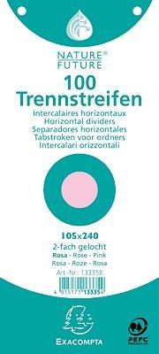 Brause Trennstreifen Premium/13335B rosa 190 g/qm Inh.100