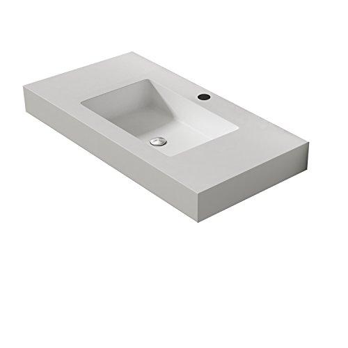 LINEBATH - VASQUE 80cm - Série ELEMENT - Finition : Blanc