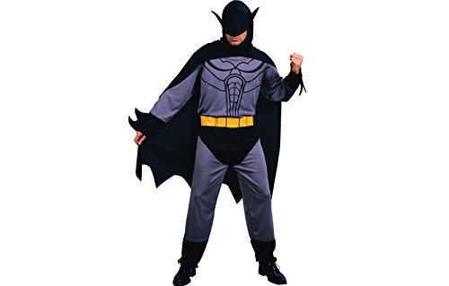 Fledermauskostüm Bat Hero Fledermaus Kostüm Herren Gr. XL