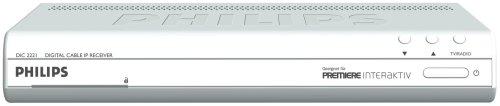 Philips DIS 2221 Sateliten Receiver, kann alle Sender, aber NICHT SKY! (seit 20.11.2015, SKY bietet keine Verschlüsselung mehr an!) Philips Digital-receiver